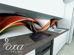 Tak wygląda wizja OXA Design, jeśli chodzi o kuchnię. Nowatorsko i odważnie.  http://artbud.szczecin.pl/