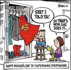 Happy Mother's Day #comic #humor #mothersday