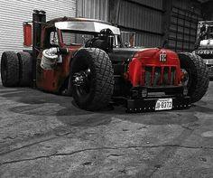 Rat rod truck...pure awesomeness