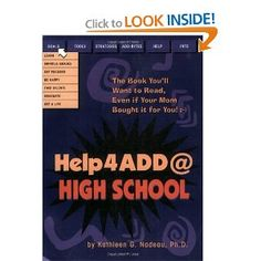 Help4ADD@High School - back in print! (Affiliate)