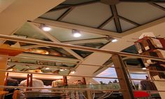 Retail shop in Greece with skylight project. Construction without silicon. 10 years guarantee. www.glazetech.gr