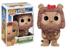 Pop! Movies: The Wizard of Oz - Cowardly Lion | Funko
