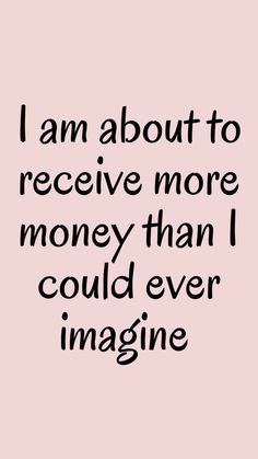 Positive Affirmations Quotes, Wealth Affirmations, Law Of Attraction Affirmations, Affirmation Quotes, Positive Quotes, Affirmations For Money, Positive Things, Mantra, Manifesting Money
