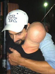 This was beyond the best moments of my sisters life last night! My sisters name is Elizabeth and if you can't tell this is her Idol Kevin from the Backstreet Boys!!!!!!! Kevin out of the goodness of his heart let my sister through the gate to give him a hug. Elizabeth has Down syndrome . I wanted to post this because some people in life take these moments for granted but Elizabeth will treasure this in her heart forever! Repost plz and help spread this Good things only happen to good people…
