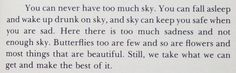 Sandra Cisneros | The House on Mango Street....here there is too much sadness and not enough sky..