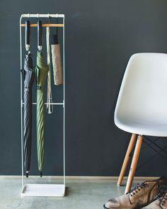 YAMAZAKI home Smart Tie Hanger White