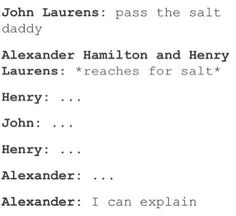 Image result for Alexander Hamilton and John Laurens smut