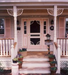 Porch Photo 32 - Vintage Woodworks  would LOVE an old victorian screen door some day