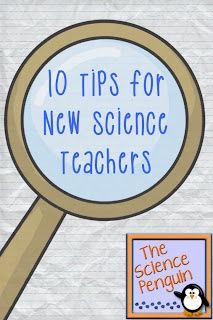 "8 10 important for all new teachers. ""Plan out your first 2 weeks very specifically. You'll need to get to know your students, teach procedures, and start teaching your classes about safety, lab tools, and process skills."""