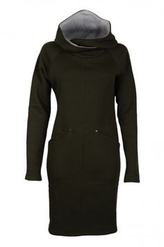 www.adatyte.com / #dress #woman #womenswear #clothes #hoodie #adatyte #green