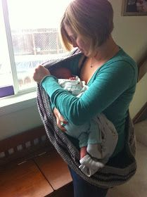 One Oops At A Time: Infinity Scarf + Nursing Cover Crochet Win!