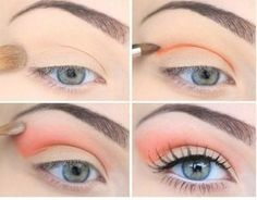 Love this fresh look. Plus, it's coral! weheartit.com