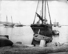 Grèce ; Attique ; Égine Port. 1915 Photographe Magne, Louis Crédit photographique Ministère de la Culture (France), Médiathèque de l'architecture et du patrimoine, diffusion RMN-GP.