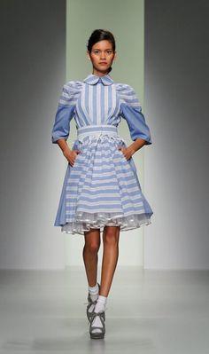 Bora Asku Catwalk - London Fashion Week 2013