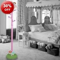 142cm Kids Angel Design Coat Clothing Stand - Suitable For Clothes & More - Fun Design - 4 Hanging Points