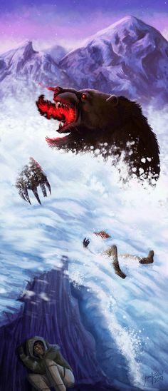 The deamen bear