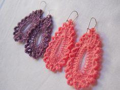 Crochet Teardrop Earring #5 | HubPages