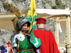 Torneo in armatura alla Fortezza di san Leo (RN)