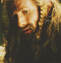 Fili when Kili was sick. I can't get over how much I love the bond between these two! If they weren't brothers, it would make for a very romantic pairing. :')