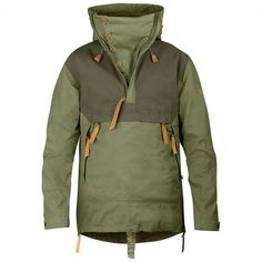 Fjällräven Anorak No.8 casual jacket Gentlemen green/brown