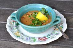 Two Blue Lemons: Turkish Red Lentil Soup
