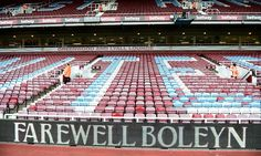 West Ham's last year at the famous old Boleyn ground begins today.