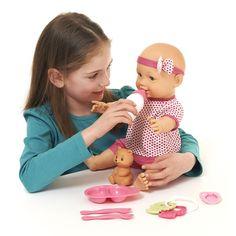 Wilko Play Baby Feeding Doll Set