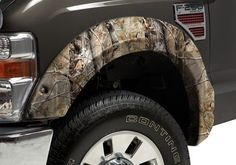 Ford Truck Accessory - Stampede Ford F-Series Camo Ruff Riderz Fender Flares
