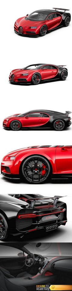 Bugatti Chiron Sport 2019 3D Model