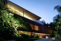 Delta House by Bernardes Arquitetura house exotic local plant life breathtaking view