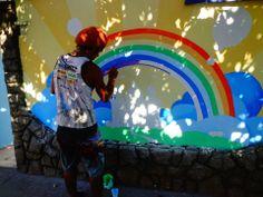 pintura em muro