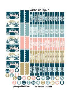 0 Planner Tips, Planner Supplies, Free Planner, Planner Pages, Happy Planner, Planner Organization, Organizing, Freebies, Printable Planner Stickers