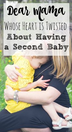 %22To the mama reading this whose heart is currently twisted about soon going from parenting one kid to two, it really is true that you'll never have to split your love between your babies and...