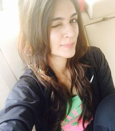 Cute selfie clicked by Kriti Sanon
