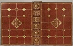 """(BINDINGS - SANGORSKI & SUTCLIFFE). PLATO AND SOCRATES. (London: Arthur L. Humphreys, 1907). 163 x 122 mm (6 1/2 x 4 3/4""""). 3 p.l. (including 2 tipped-in series and title leaves), 262 pp. Translated by William Whewell."""