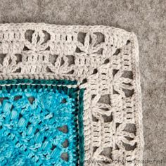 Banksia Border Crochet Pattern ⋆ Look At What I Made
