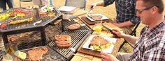 THE ALL TIME, MOST AWESOME GRILL EVER CREATED!! I HAVE TO DIY ONE, (I'm not about to pay $2500) Luxury Grill, FirePit, Grill, BBQ, Table, FirePit Grill, FirePit Table, Luxury FirePit, Charcoal Grill, Wooden Grill, Man Grill, Park Grill, Heavy Duty Grill, Dome Grill, 8 Person