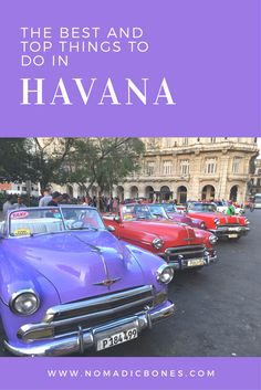 The Best and Top Things to do in Havana #havana #cuba #thingstodo #guides