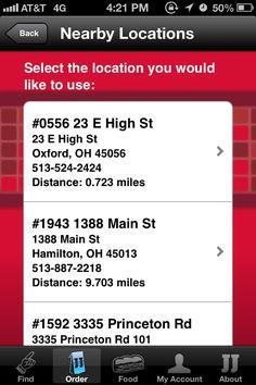 Jimmy John's app-nearby locations