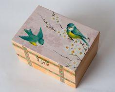 Szkatułka- ptaszki