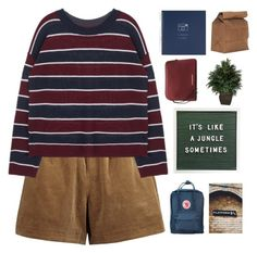 """COME ON EILEEN OH I SWEAR WHAT HE MEANS"" by c-ityscape ❤ liked on Polyvore featuring Nearly Natural, Burberry, Fjällräven and vintage"
