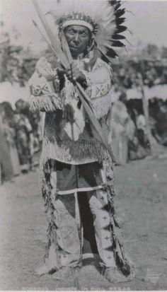 Sicangu man - circa 1920