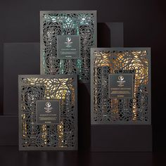 Awapuhi Gift Sets from Paul Mitchell 2015....really beautiful laser cut packaging (for a great product no less!).