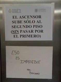 Polémica en el ascensor