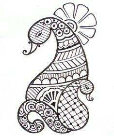 New Flowers Tattoo Desing Paisley Doodle Ideas Henna Hand Designs, Beginner Henna Designs, Mehndi Art Designs, Bridal Mehndi Designs, Simple Mehndi Designs, Henna Tattoo Designs, Tattoo Ideas, Rangoli Designs, Mehndi Drawing