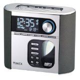 Timex T617S Nature Sounds Auto Set CD Clock Radio with Smart Knob Tuning and MP3 Line In (Silver) (Electronics)By Timex