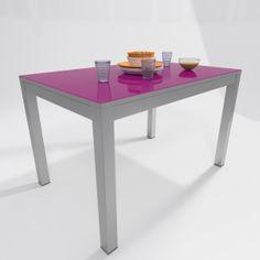 Mesas de cocina de color turquesa en pinterest for Sillas de cocina rojas
