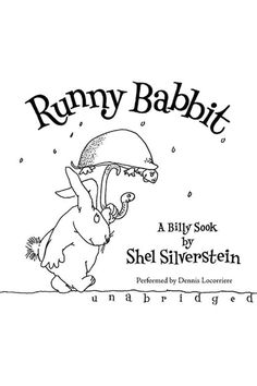 "Runny Babbit lent to wunchAnd heard the saitress way,""We have some lovely stabbit rew --Our Special for today.""  From the legendary creator of Where the Sidewalk Ends, A Light in the Attic, Falling Up, and The Giving Tree comes an unforgettable new character in children's literature.  Welcome to the world of Runny Babbit and his friends Toe Jurtle, Skertie Gunk, Rirty Dat, Dungry Hog, Snerry Jake, and many others who speak a topsy-turvy language all their own.  So if you say, ""Let's bead a"