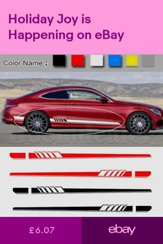 Set of 2 300x40mm LOGO /& RINGS Side Skirt//Body Work Vinyl Decals for Audi Owners Silver