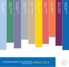 spring 2014 fashion color palette | Color Report: Spring 2014 | Live Colorful